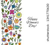 floral seamless pattern for... | Shutterstock .eps vector #1341770630