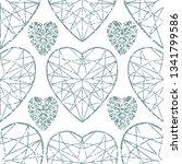 vector seamless grunge textured ... | Shutterstock .eps vector #1341799586