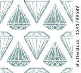 vector seamless grunge textured ... | Shutterstock .eps vector #1341799589