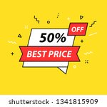 sale tag. special offer  big... | Shutterstock .eps vector #1341815909