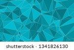 vector random lines connected ... | Shutterstock .eps vector #1341826130