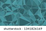random lines connected... | Shutterstock .eps vector #1341826169