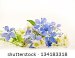 Bouquet Of Spring Flowers On A...