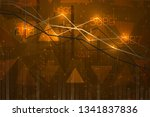 abstract infographics... | Shutterstock .eps vector #1341837836