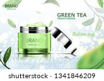 luxury cosmetic bottle package... | Shutterstock .eps vector #1341846209