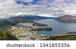 panoramic view  the remarkables ... | Shutterstock . vector #1341855356