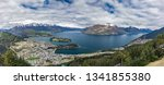 panoramic view  the remarkables ... | Shutterstock . vector #1341855380