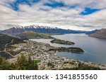 panoramic view  the remarkables ... | Shutterstock . vector #1341855560