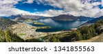 panoramic view  the remarkables ... | Shutterstock . vector #1341855563