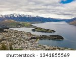 panoramic view  the remarkables ... | Shutterstock . vector #1341855569