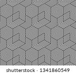 abstract geometric seamless... | Shutterstock .eps vector #1341860549