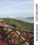 third bridge view in istanbul ... | Shutterstock . vector #1341861689