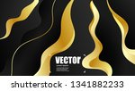 abstract gradients gold... | Shutterstock .eps vector #1341882233