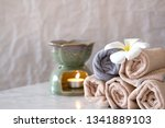 spa therapy atmosphere | Shutterstock . vector #1341889103