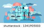 ethical marketing vector... | Shutterstock .eps vector #1341905003