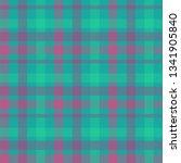 tartan color seamless vector... | Shutterstock .eps vector #1341905840
