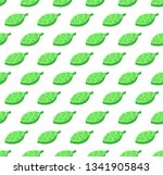 green stylized leaves color... | Shutterstock .eps vector #1341905843