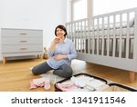 pregnancy  technology and... | Shutterstock . vector #1341911546