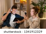 leisure  technology and people... | Shutterstock . vector #1341912329