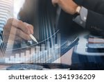 business investment  report and ... | Shutterstock . vector #1341936209