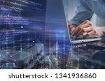 digital technology  software... | Shutterstock . vector #1341936860