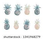 vector illustration tropical...   Shutterstock .eps vector #1341968279