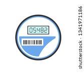 electricity smart meter simple... | Shutterstock .eps vector #1341971186