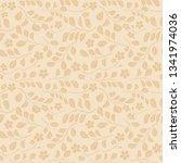 light beige seamless pattern... | Shutterstock . vector #1341974036