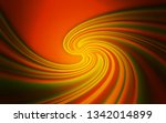 dark orange vector blurred and... | Shutterstock .eps vector #1342014899