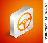 isometric steering wheel icon...   Shutterstock .eps vector #1342032650