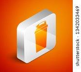 isometric fitness shaker icon... | Shutterstock .eps vector #1342033469