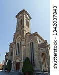gothic revival style christ the ... | Shutterstock . vector #1342037843