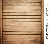 wood wall brown texture.... | Shutterstock . vector #134204918