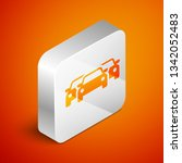 isometric cars icon isolated on ... | Shutterstock .eps vector #1342052483