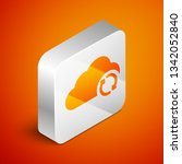 isometric cloud sync refresh... | Shutterstock .eps vector #1342052840