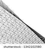 abstract 3d architecture | Shutterstock .eps vector #1342102580