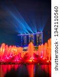 singapore city  singapore  ... | Shutterstock . vector #1342110560