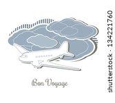 textured vector illustration of ...   Shutterstock .eps vector #134221760