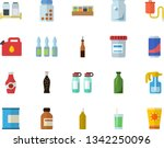 color flat icon set spice flat...   Shutterstock .eps vector #1342250096