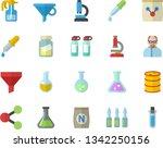 color flat icon set fertilizer...   Shutterstock .eps vector #1342250156