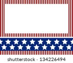independence day background... | Shutterstock .eps vector #134226494