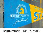 hopkinton  ma  usa   apr 23 ... | Shutterstock . vector #1342275983