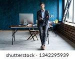 businessman wearing modern suit ... | Shutterstock . vector #1342295939