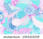 vector abstract illustration... | Shutterstock .eps vector #1342323239