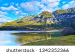 Panoramic Mountain Landscape Hallstatt Lake - Fine Art prints