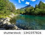 clear waters of the valldola...   Shutterstock . vector #1342357826