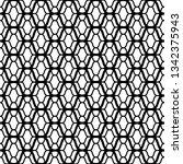 crochet lace ornament  tulle...   Shutterstock .eps vector #1342375943