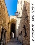 Narrow Street In Castel Dell...