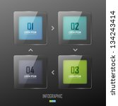 Vector Colorful Glass Banners