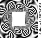 optical illusion lines... | Shutterstock .eps vector #1342448303